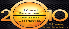Unfiltered Perspectives, Unexpected Opportunities: The 2010 AMA Marketing Research Conference