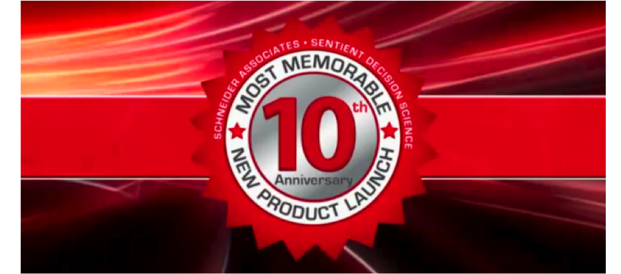 Webinar: Most Memorable New Product Launch 2011
