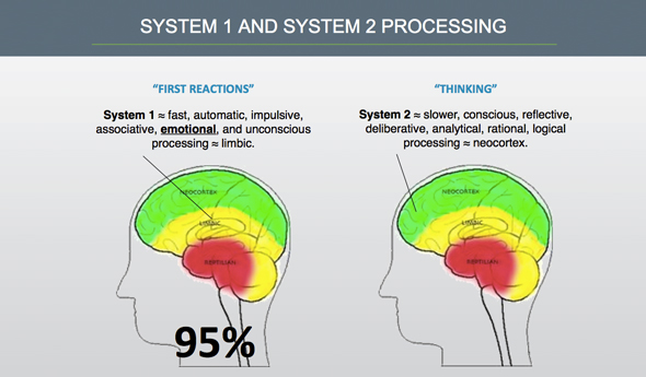 System 1 vs System 2 Processing
