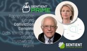 Subconscious Perceptions Hillary Bernie