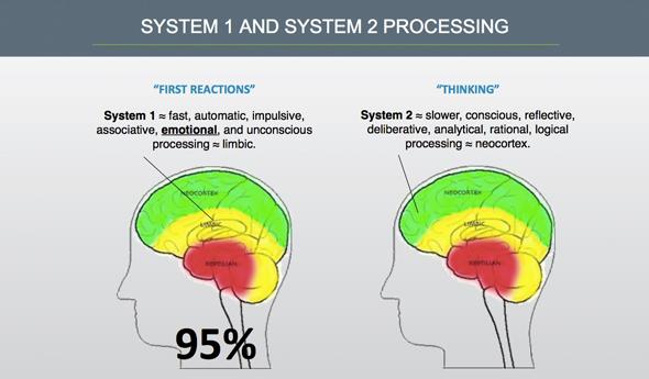 System 1 vs System 2 Processing