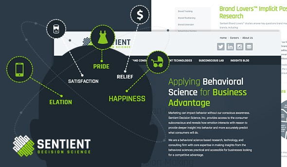 Sentient Decision Science Has a Brand New Website