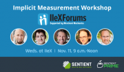 Implicit Measurement Workshop IIeX 2015