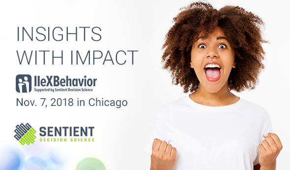 IIeX Behavior November 7, 2018 in Chicago