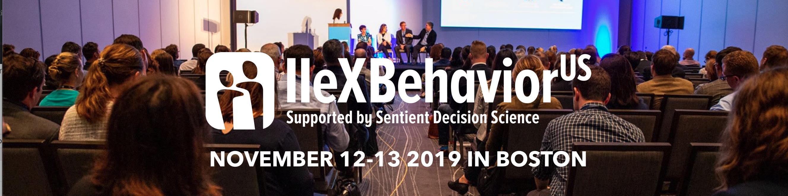 IIeX Behavior US 2019